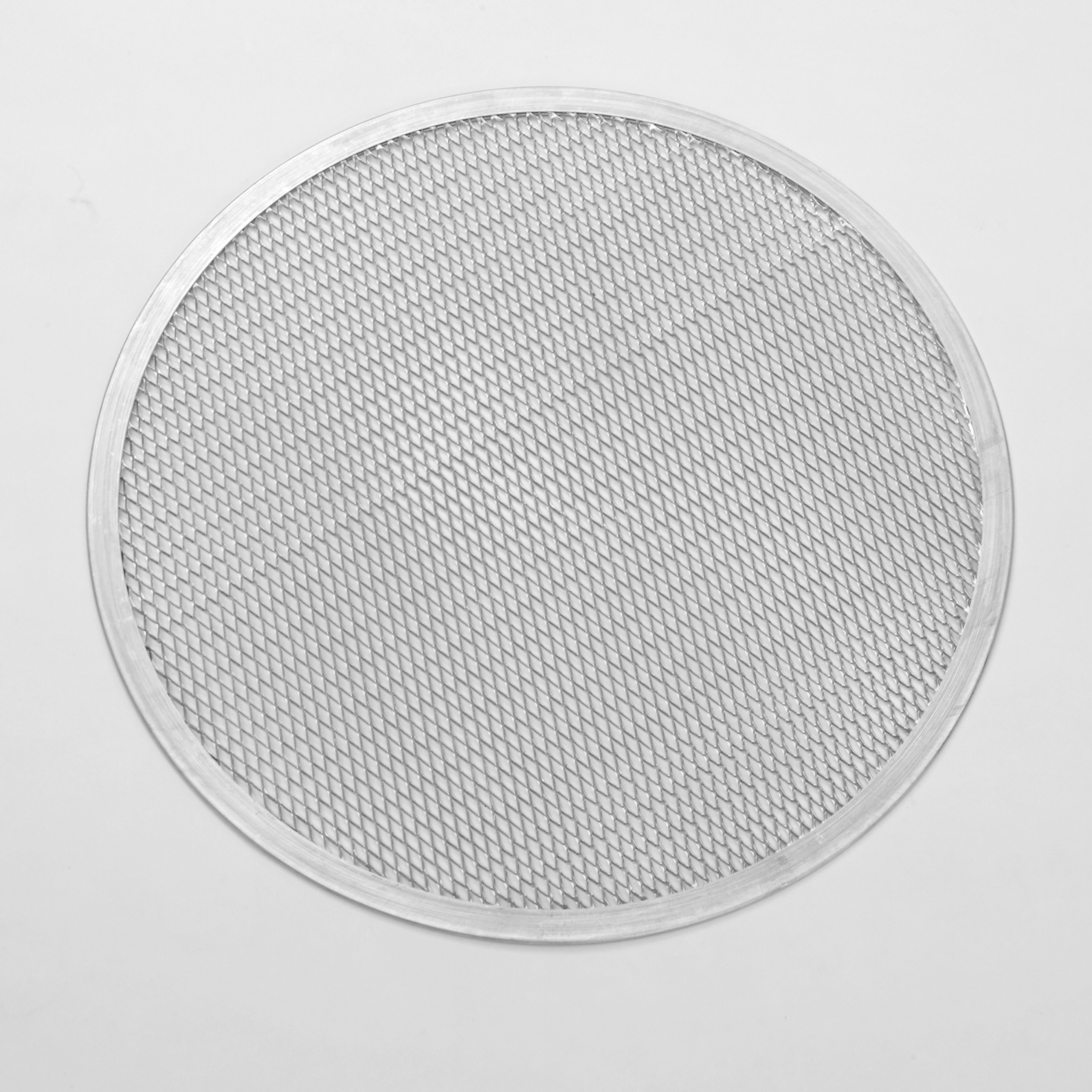 American Metalcraft 18728 Heavy-Duty Expanded Aluminum Pizza Screen, 28-Inches
