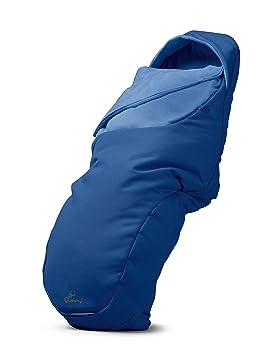 Quinny - Saco de dormir para bebés universal, compatible con la mayoría de sillas de paseo y capazos. azul (blue base)