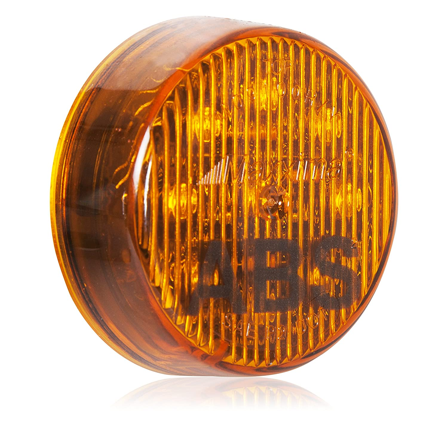 Maxxima M09100ABS 2 Round Amber ABS Light