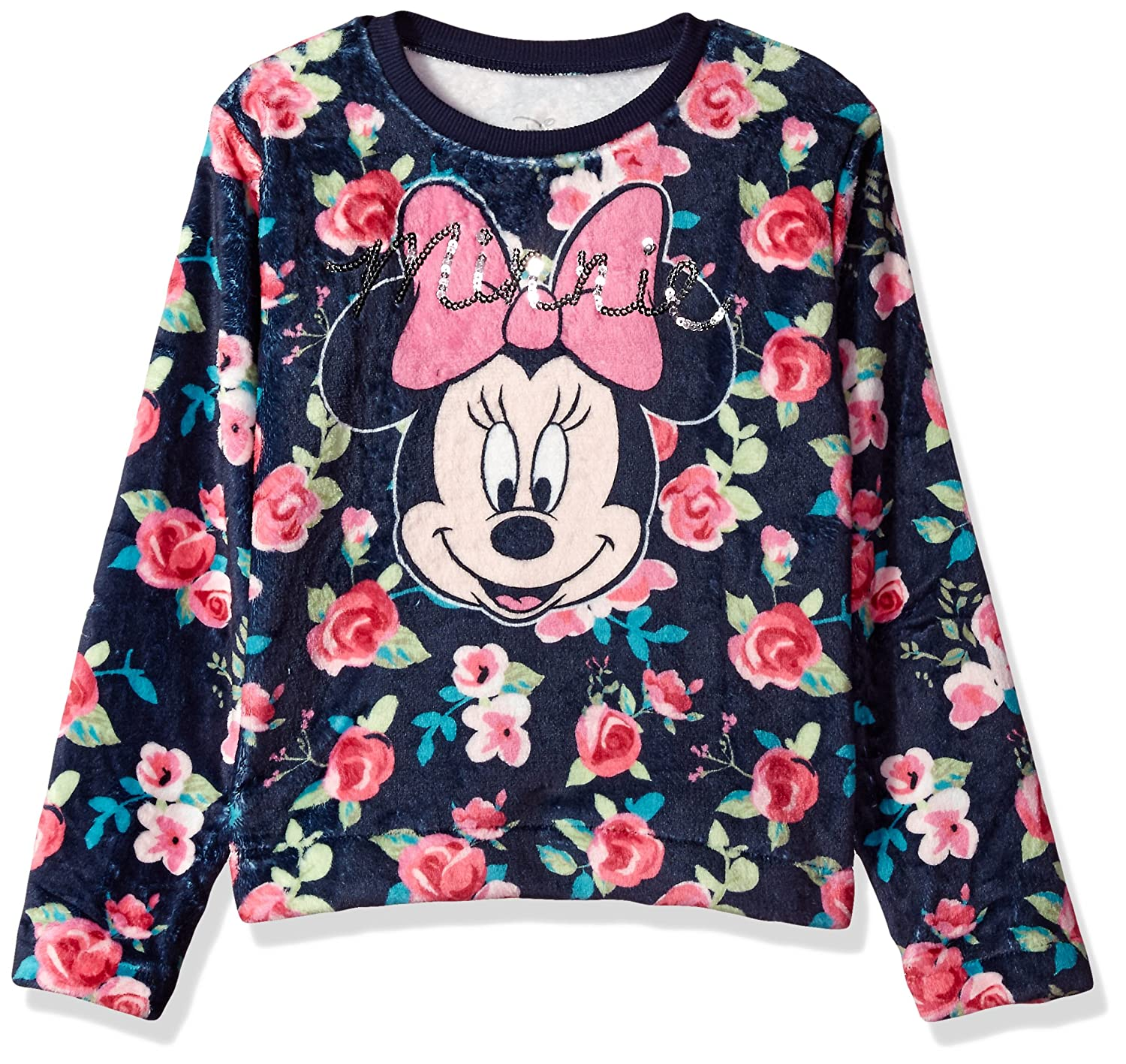 Disney Girls' Minnie Mouse Woobie Long Sleeve Pullover Sweater DSNI00TCLC
