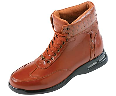 Amazon.com | Pelle Pelle Mens High Top Air Bottom Casual Sneaker ...
