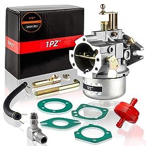 1PZ UMK-201 Carburetor for Kohler K321 and K341 Cast Iron Engine 14hp 16hp John Deer Tractor Engine Carb (Extra Thick Gasket)