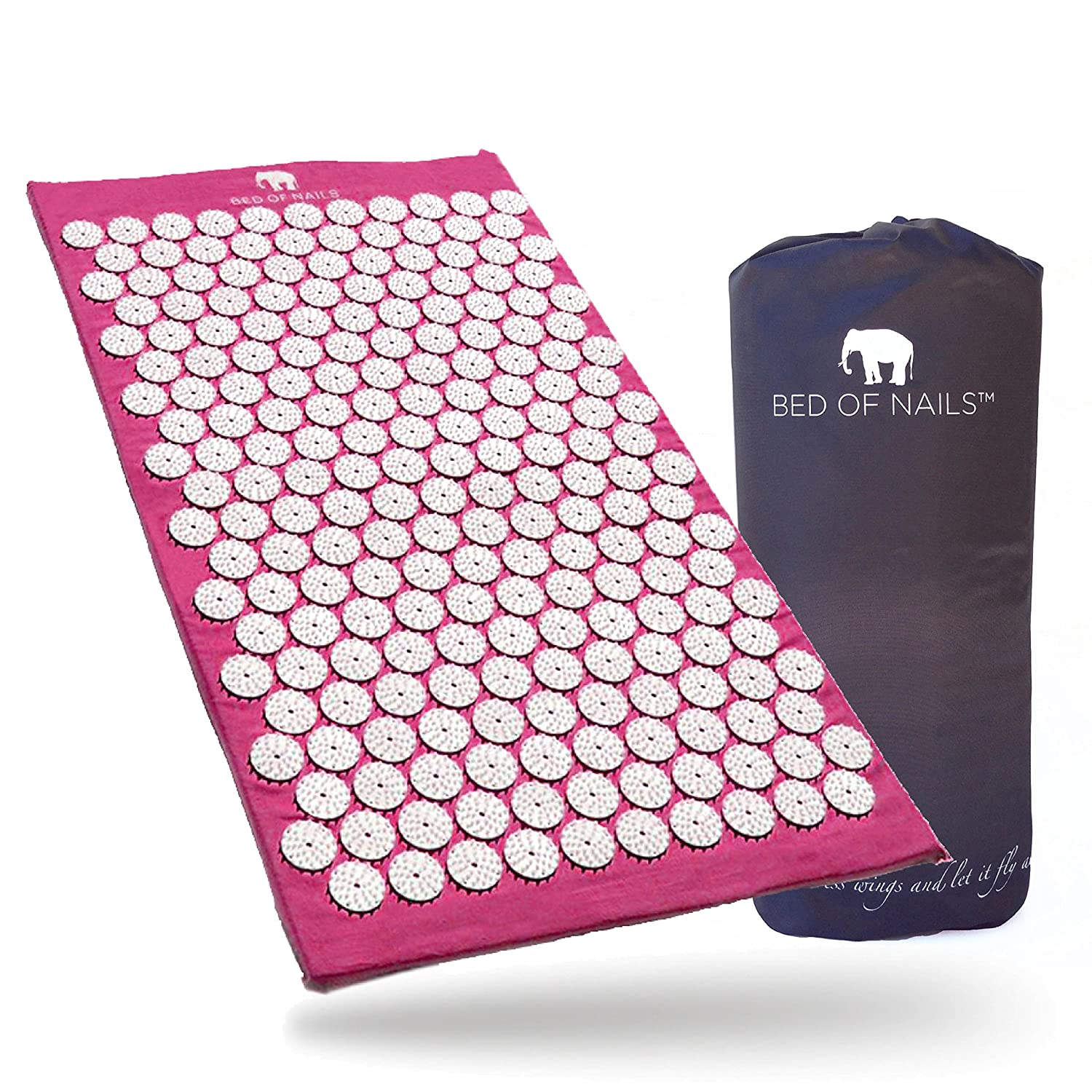 Amazon Bed of Nails Green Original Acupressure Mat for Back