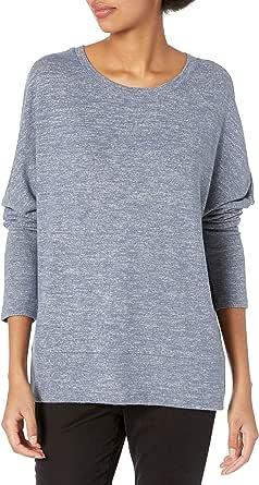 Daily Ritual Amazon Brand Women's Cozy Knit Dolman Cuff Sweatshirt