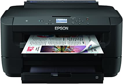 Epson Workforce WF-7210DTW - Impresora, Color Negro, Ya Disponible en Amazon Dash Replenishment