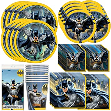 Amazon.com: Servilletas de fiesta de Batman únicas ...
