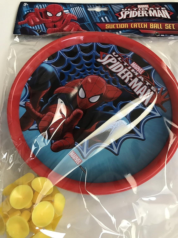 Marvel Ultimate Spider-Man succión Catch Juego de Pelota: Amazon ...