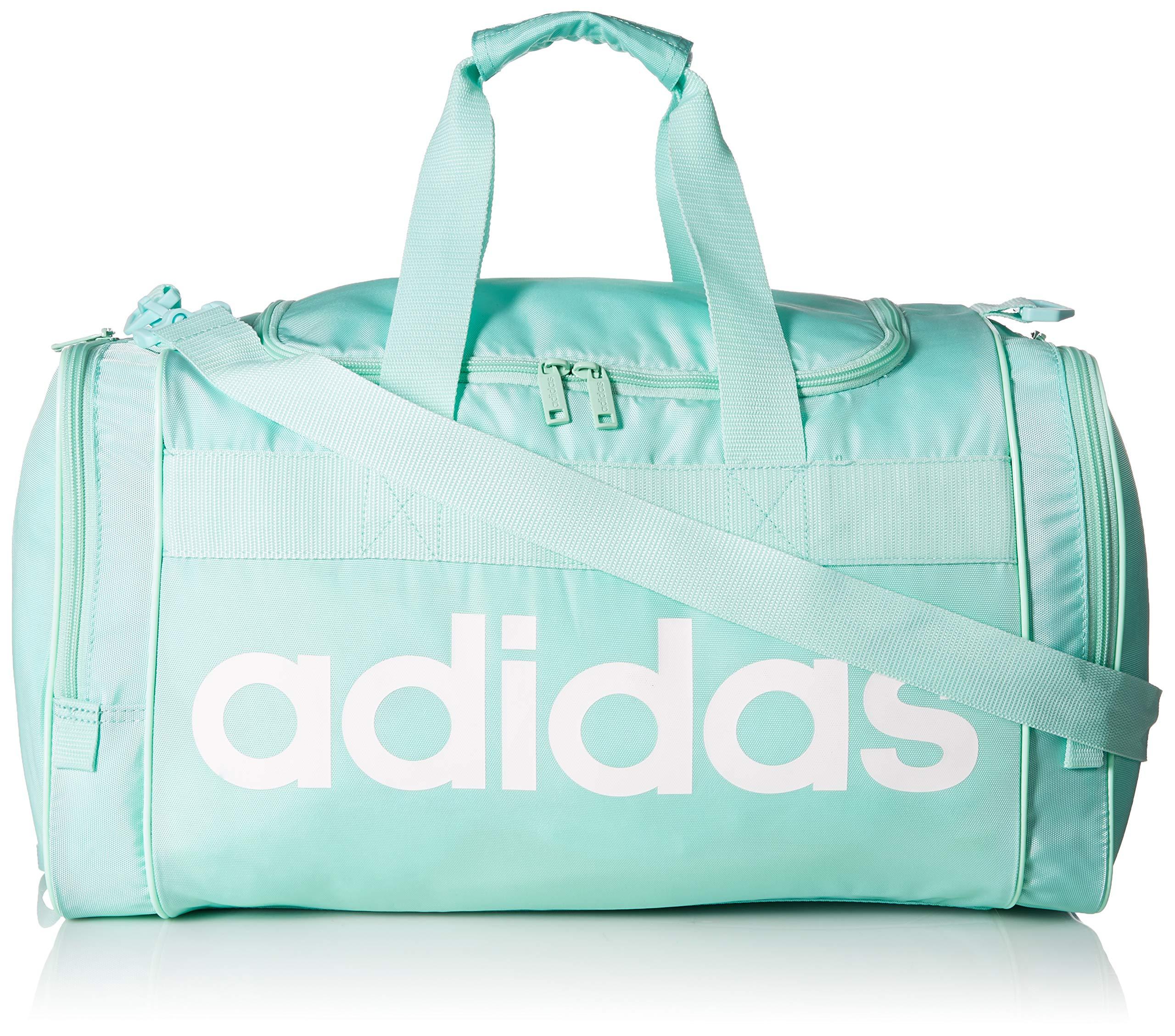 adidas Santiago Duffel Bag, Clear Mint/White, One Size