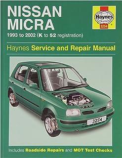 haynes workshop manual nissan micra 93 02 k to 52 reg amazon co uk rh amazon co uk Nissan Automatic Shift Knob Nissan Automatic Transmission Problems