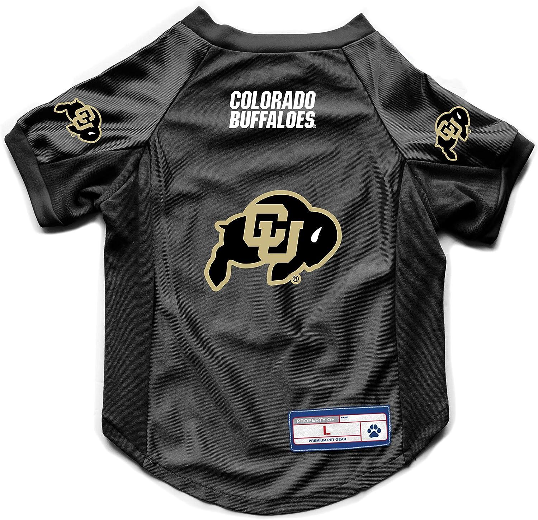 Medium Littlearth NCAA Colorado Buffaloes Pet Stretch Jersey