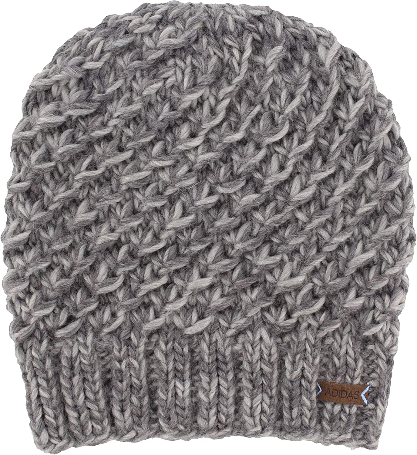 adidas Women's Whittier Beanie, Deepest Space/Grey Marl, ONE SIZE : Clothing