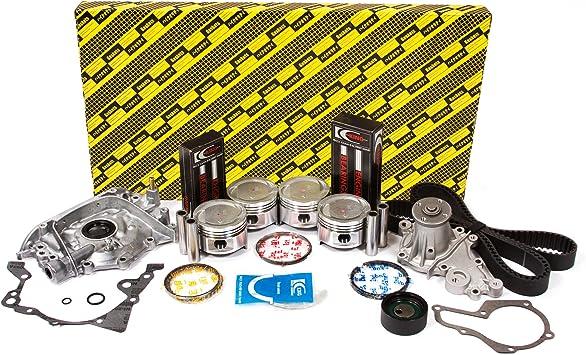 Evergreen OK8008A//0//0//0 92-95 Suzuki Sidekick 1.6L SOHC 16V G16KV Engine Rebuild Kit