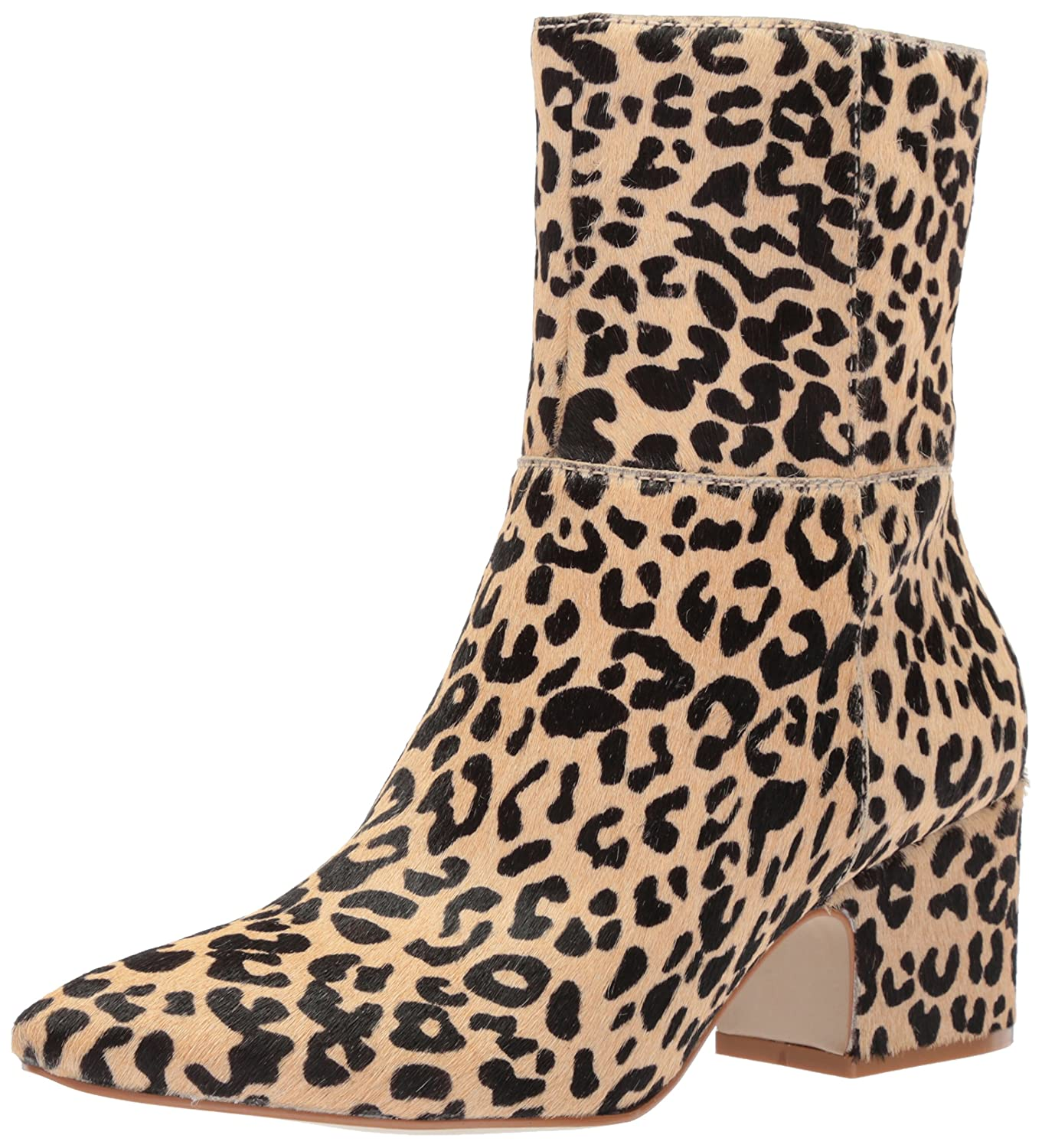 Matisse Women's at Ease Ankle Boot B0769XLJ3Z 10 B(M) US|Leopard Cow Hair