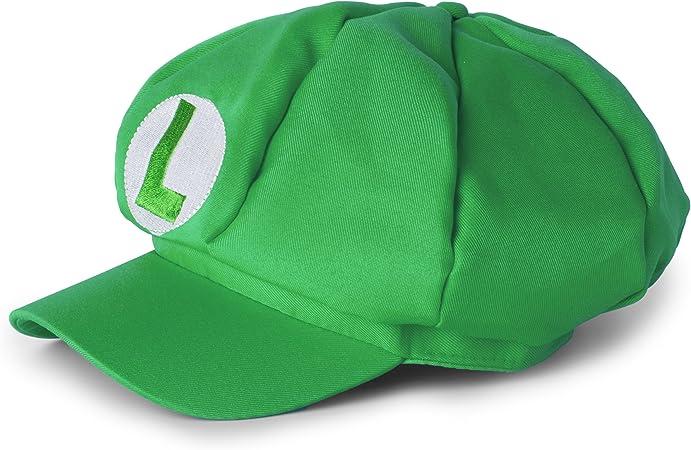 Katara Disfraz de Super Mario Bros. Gorra Clasica de Luigi Niños ...