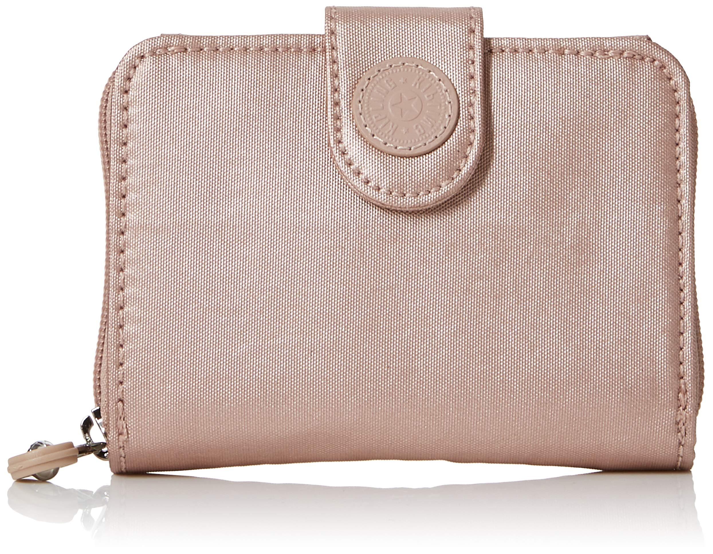 Kipling New Money, Women's Wallet, Gold (Metallic Blush), 3x9.5x12.5 cm (B x H T)