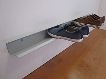 Schuhregal meter für ca paar schuhe farbe hellgrau