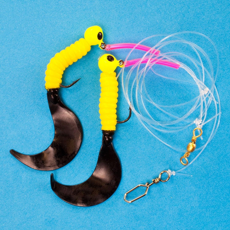 Team Deep Sea/Ostsee Spezial Twin Twister Meeresvorfach gelb//schwarz