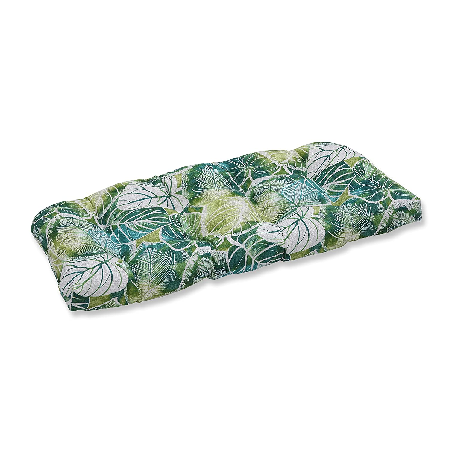 Pillow Perfect Outdoor Indoor Key Cove Lagoon Wicker Loveseat Cushion