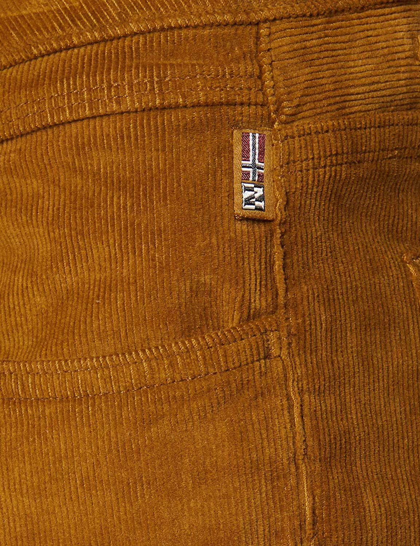 Napapijri Men's Medford Trouser Brown (Golden Brown Nc1)