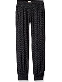 81899474fb O'Neill Womens Night Flare Woven Pant with Smocked Waistband Casual Pants