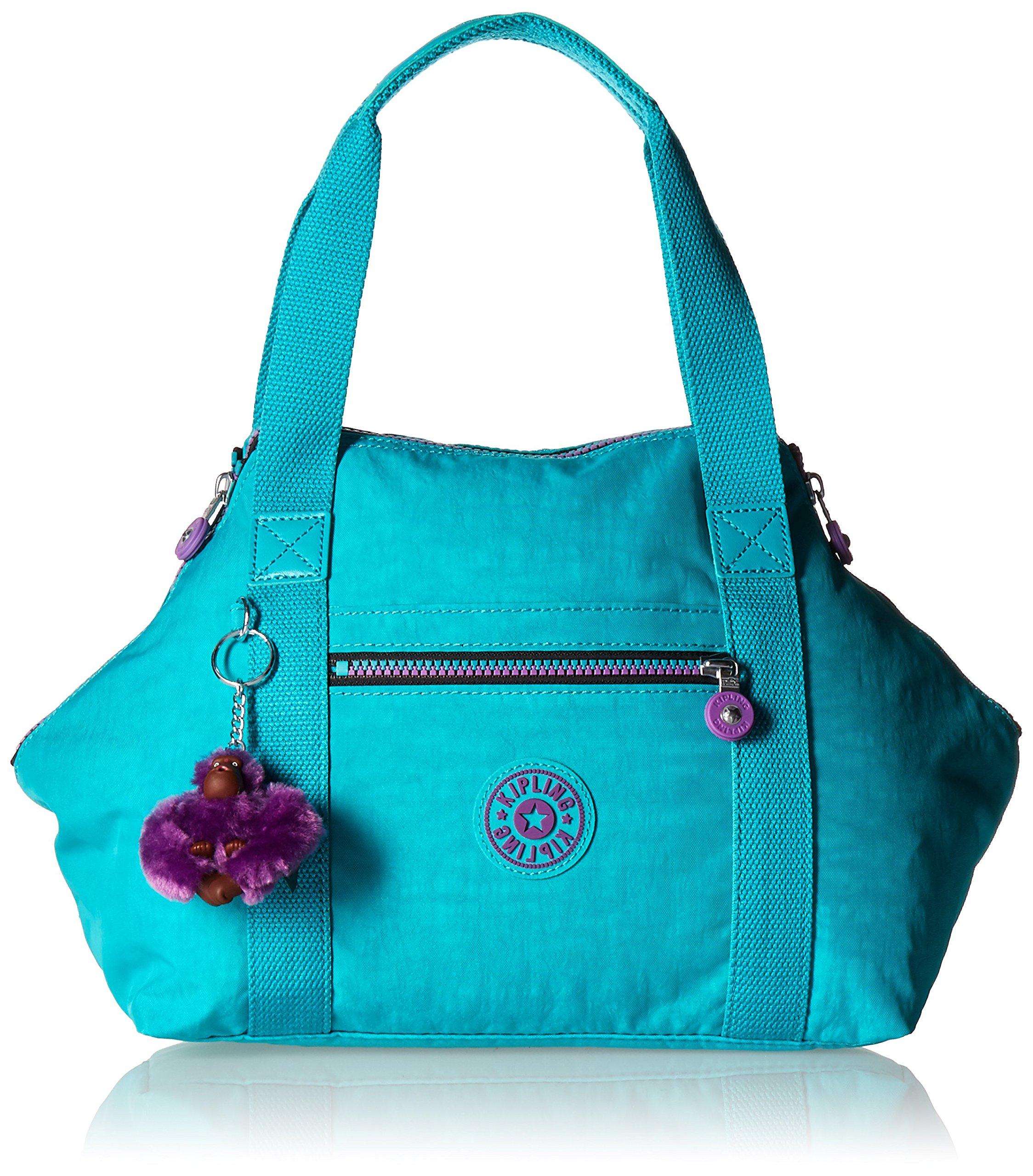 Kipling Art M Tote, Cool Turquoise