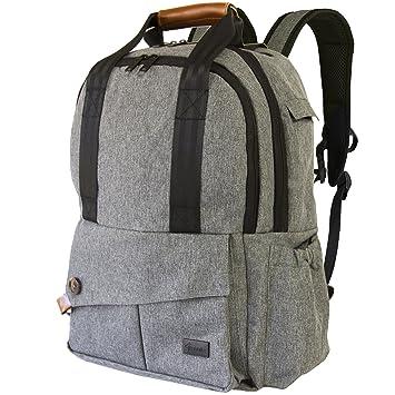 27565df1e88 9 Rabbits Diaper Bag Backpack, Stylish Multi-Function Waterproof Smart  Organizer Baby Back Pack