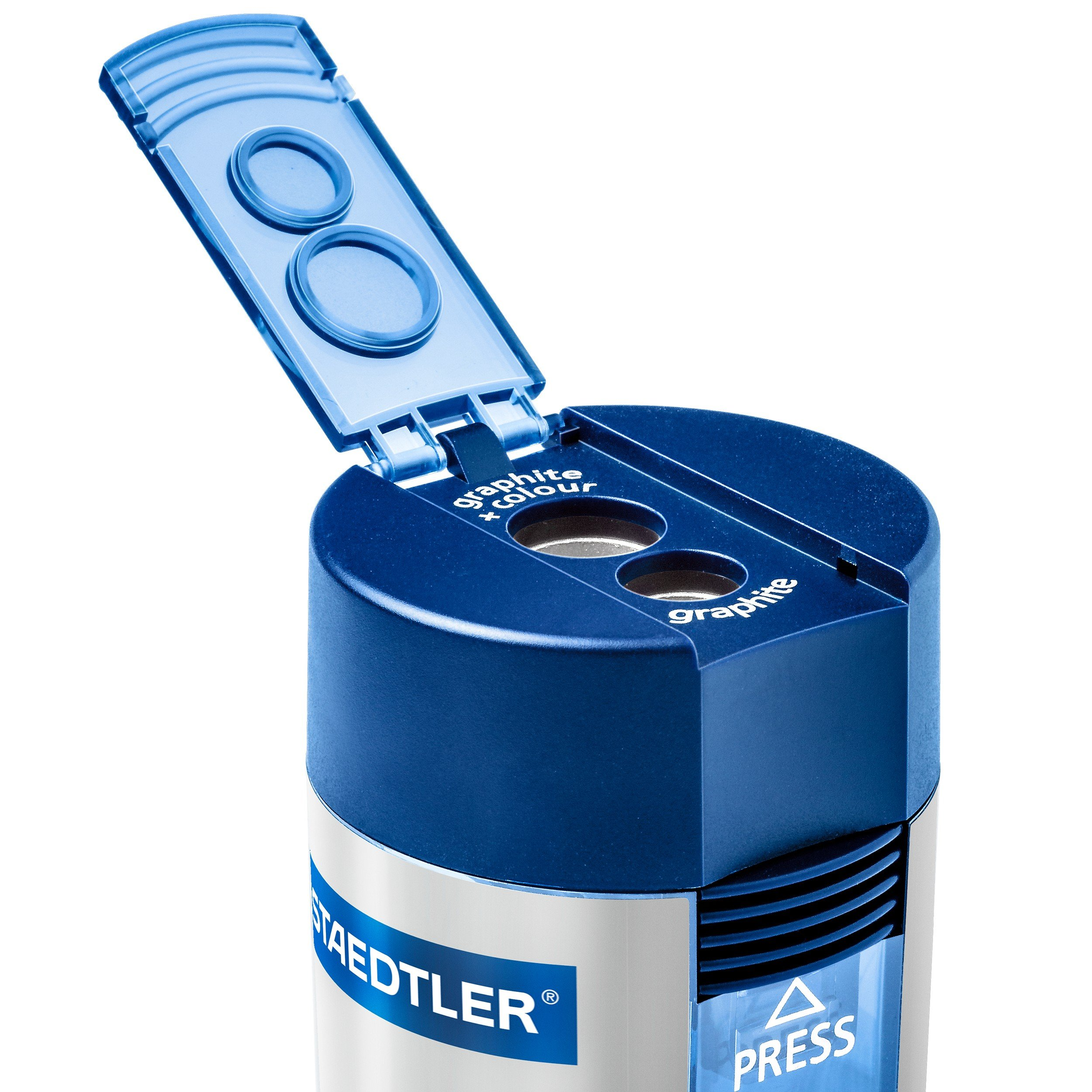 Staedtler 512 001 ST Double-hole Tub Pencil Sharpener by Staedtler (Image #2)