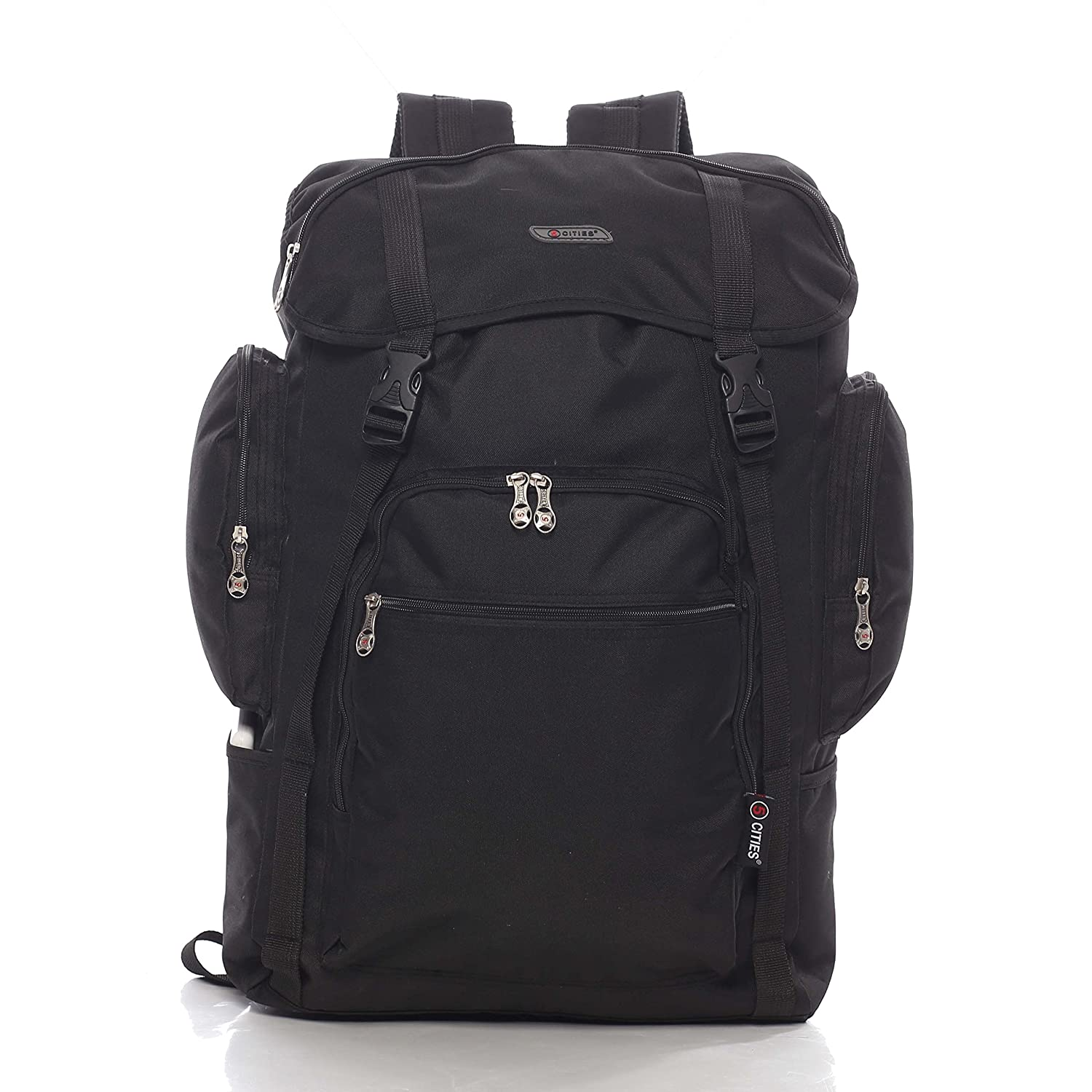 5 Cities Ryanair Maximum Cabin Allowance 55X40X20Cm Backpack, Approved Flight  Bag for Easyjet Hand Luggage, 55 cm, 44.0 L, Black  Amazon.co.uk  Luggage 925e9b250b