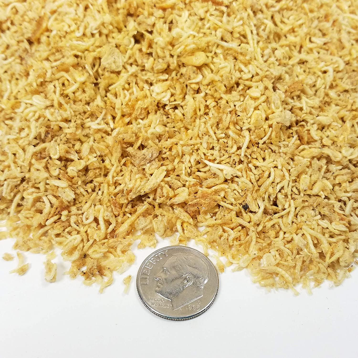 Freeze Dried Mysis Shrimp - Great for All Tropicals and Marines. Aquatic Foods Freeze Dried Tropical Fish Foods
