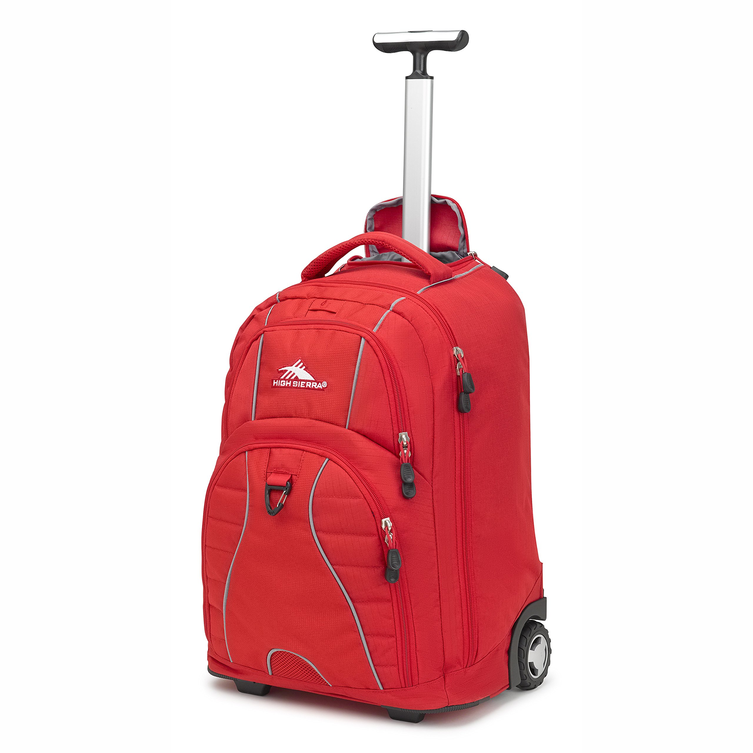 High Sierra Freewheel Rolling Backpack (Crimson)