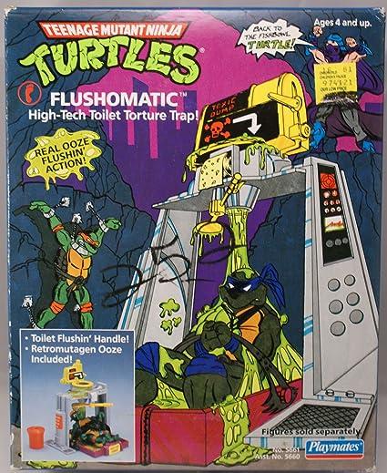 Amazon.com: Teenage Mutant Ninja Turtles TMNT flushomatic ...