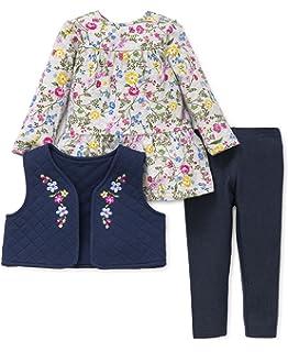 Little Me Baby Girls 3 Piece Vest Set 3T