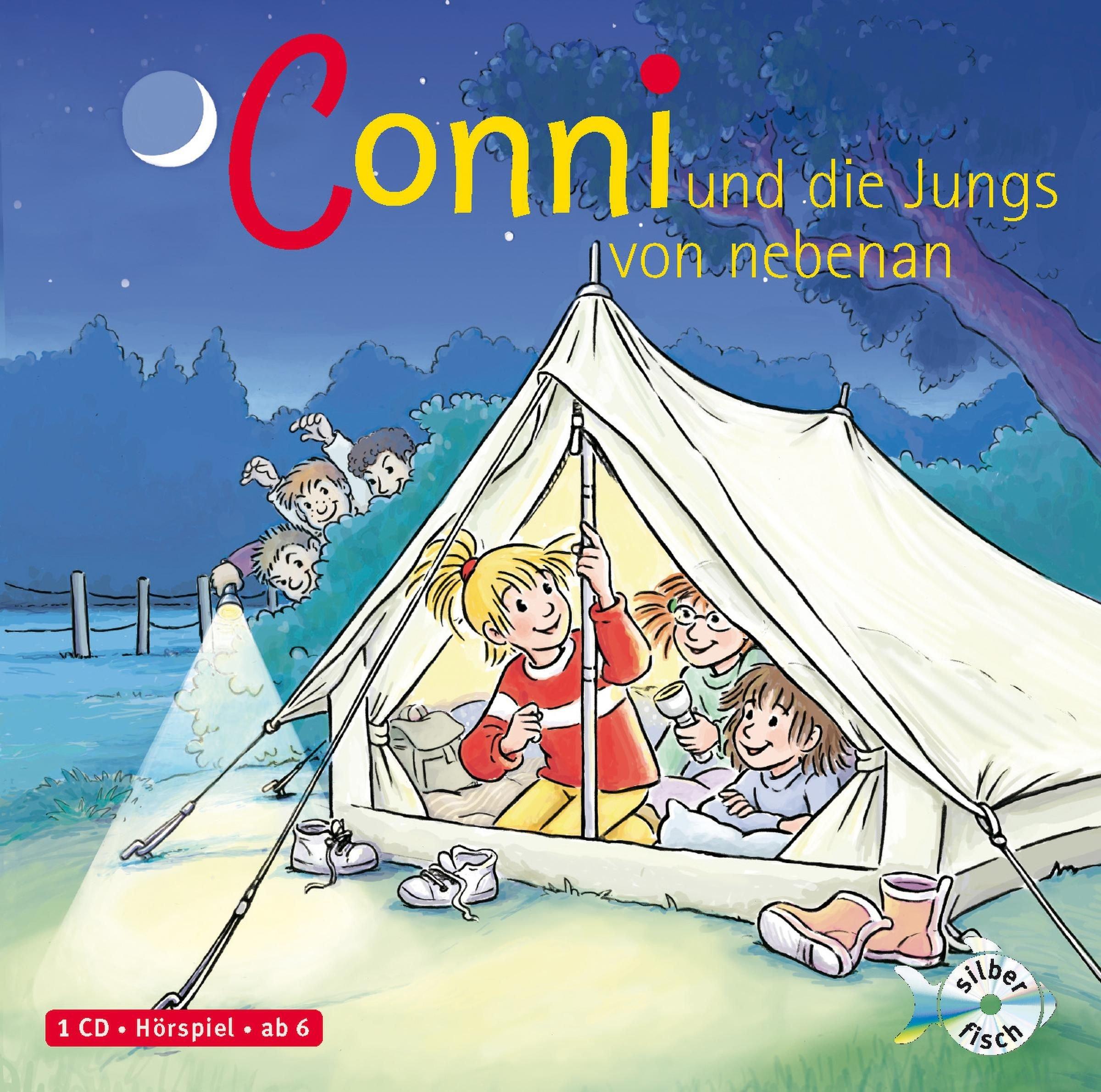 Conni und die Jungs von nebenan: 1 CD (Meine Freundin Conni - ab 6, Band 9)