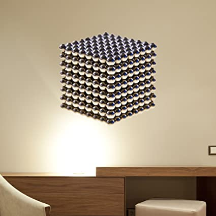amazon com metal beads cube wall decal by style apply wall rh amazon com