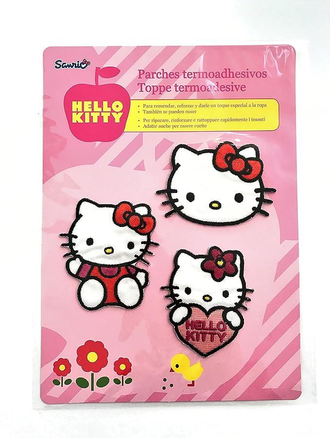 Hello Kitty–3aufbügel Rustine de différentes