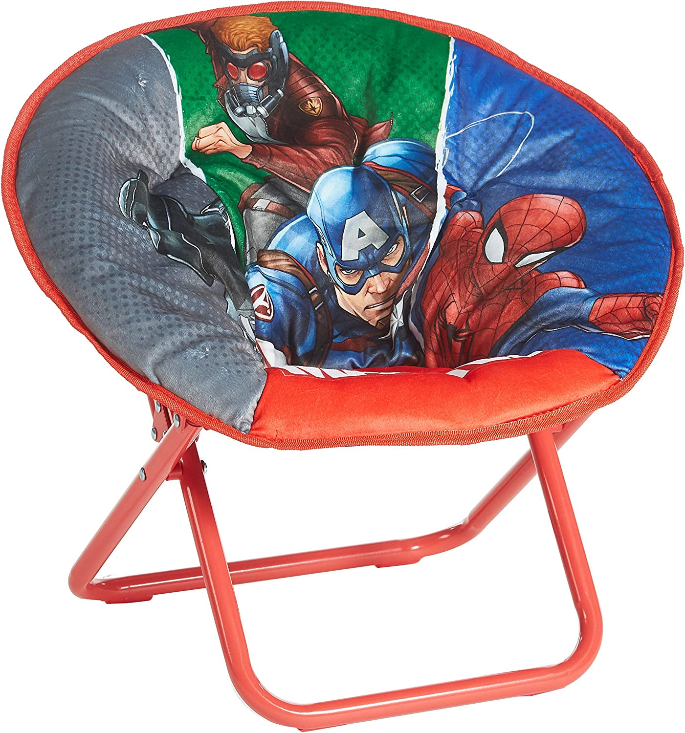 Amazon Com Avengers Toddler Saucer Chair Toys Games
