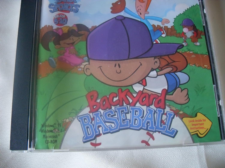 amazon com backyard baseball it u0027s junior sports for kids 5 10 cd