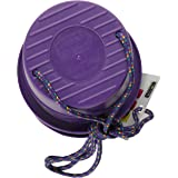 Just Jump It Set of 2 EZ Steppers Agility Toy - Can Stepper Toys (Purple)