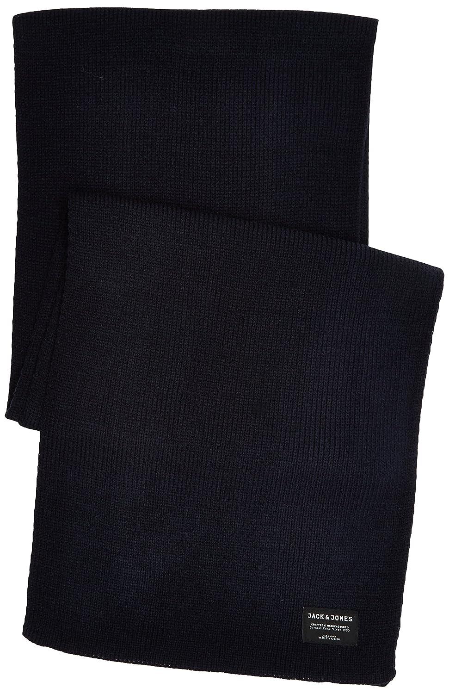 f2cd7a89855b46 JACK   JONES Herren Schal Jacdna Knit Scarf Noos Blau (Navy Blazer) One  Size größeres Bild