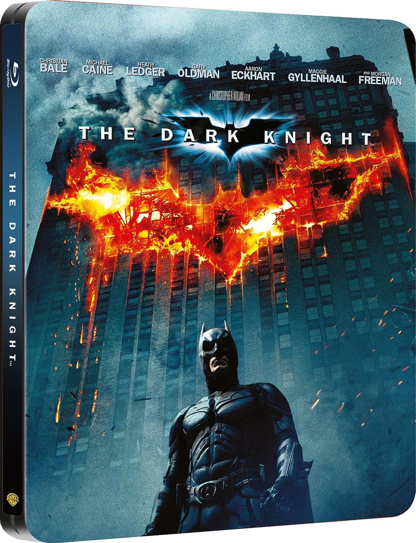 The Dark Knight Limited Edition Steelbook Blu Ray 2008 Region Free League Volans K 440 Christian Bale Michael Caine Heath Ledger Gary Oldman Aaron Eckhart