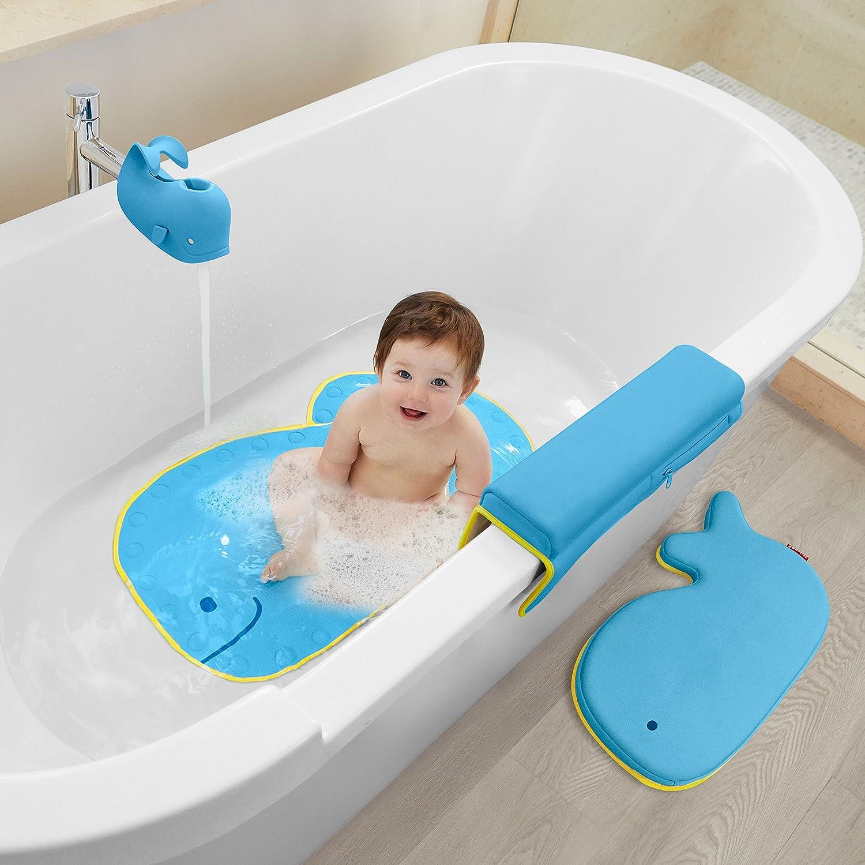 Amazon.com : Skip Hop Moby Baby Bath Set, Four Bathtime Essentials ...