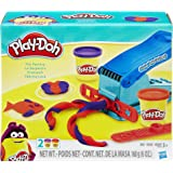 Play-Doh Basic Fun Factory Shape Making Machine with 2 Non-Toxic Play-Doh Colors,Red/Blue,Pack of 2