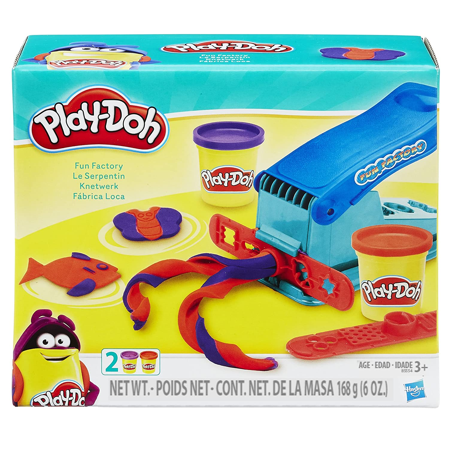 Amazon Play Doh Fun Factory Set Toys & Games