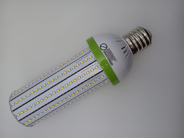 Pearlight 40W E26 LED Stubby Corn Light 5000K AC100-300V Energy Saving 5200LM Lighting Angle 360 degree Corn Bulb