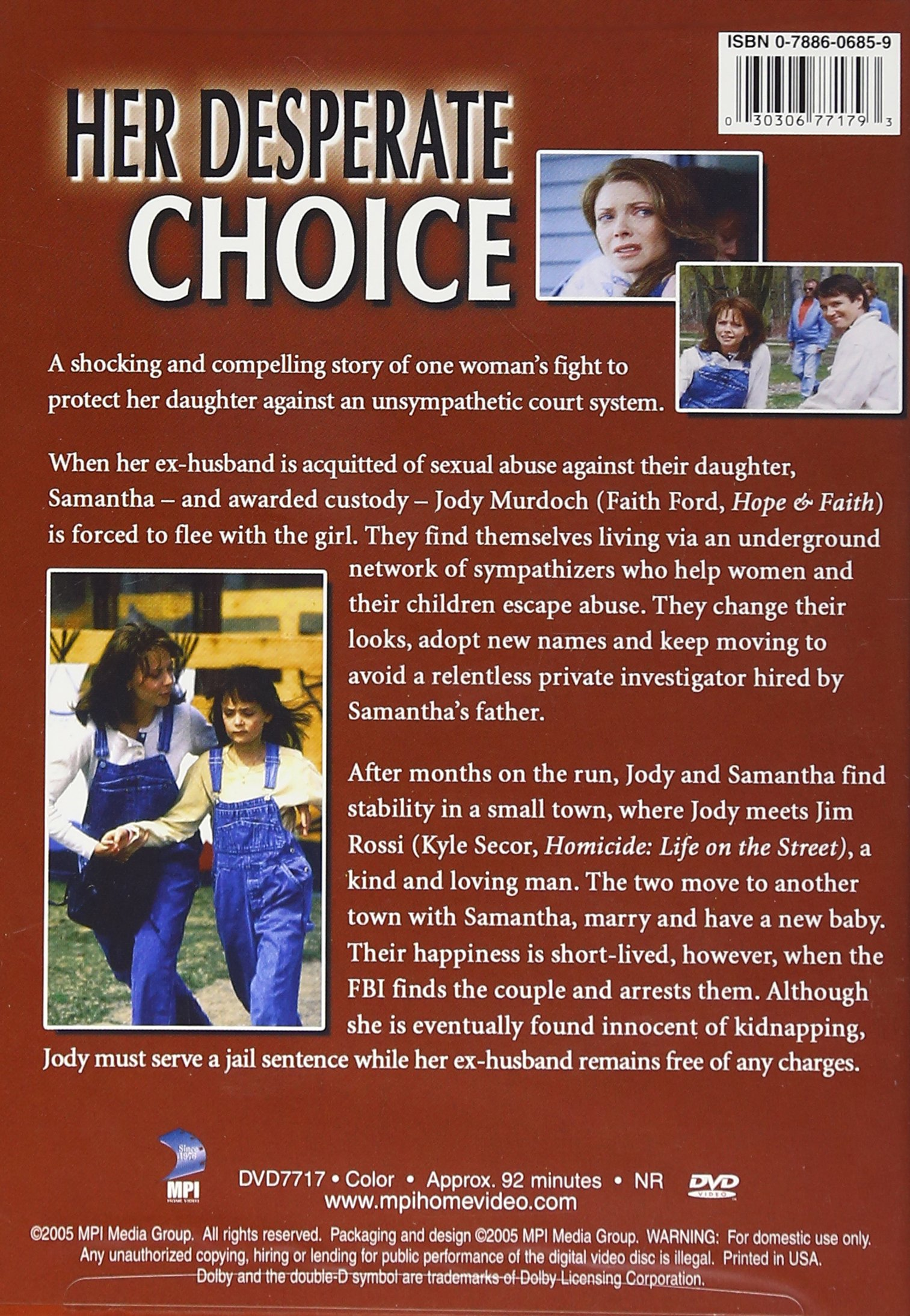 Her Desperate Choice (True Stories Collection TV Movie) by Mpi Home Video