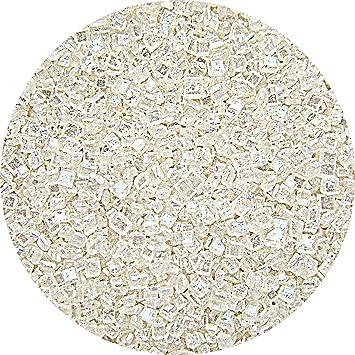 Natural Blanco tuercas leche de soja Gluten OMG libre Shimmer - cristales de azúcar: Amazon.es: Hogar