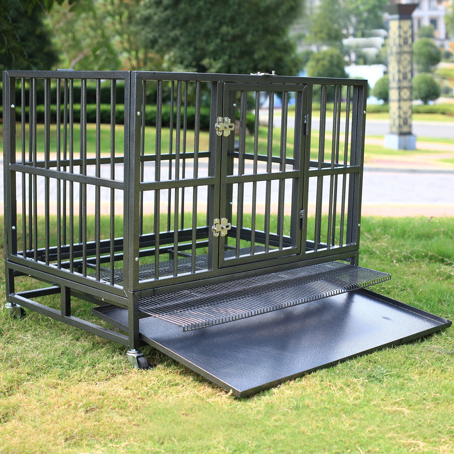 Walcut Dog Crate - Cleaning is Easy!