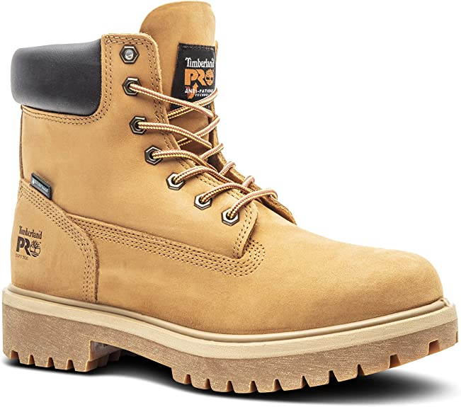 Timberland Pro Men's Direct Attach Six Inch Soft Toe Boot