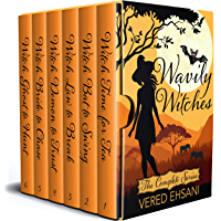 Wavily Witches: The Complete Cozy Mystery Series (Books 1-6)