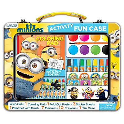 Bendon Minions Art and Activity Tin: Toys & Games [5Bkhe1100925]